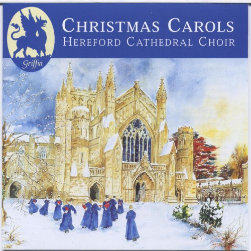 Lighted 8 Song Musical Holiday Christmas Carolers Choir: Christmas Carols From Hereford Cathedral By Roy Massey