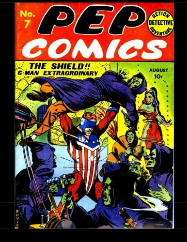 Download Pep Comics #7: Golden Age Superhero Comic PDF