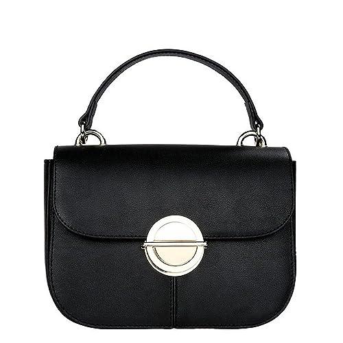 2018 women fashion bag head layer cowhide genuine leather single shoulder  bag (black) c9303bf2b3