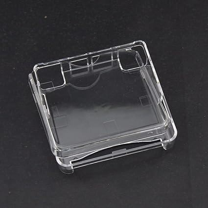 Crystal – Funda Carcasa protectora polvo para Gameboy Advance SP GBA SP Juego Consola – claro