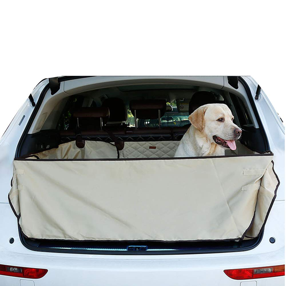 OTENGD Pet Quilted Cargo Trunk Mat Predector Durable Liner Covers Waterproof and Nonslip Universal Fit for Any Pet Animal and Predects Your Vehicle