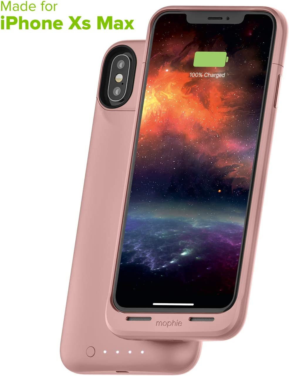 mophie Juice Pack Air - Protective Battery Pack Case For Apple iPhone Xs Max - Pink