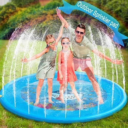 Splash Play Mat,Sprinkler pad 68