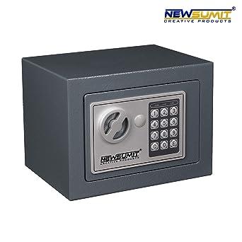 NEWSUMIT - Caja Fuerte Electronica con Llaves para Hogar, Oficina ...