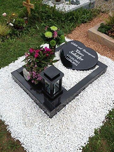 Beliebt Urnengrab Grabstein Schwedisch Schwarz Urnengrabstein Grabmal OT76