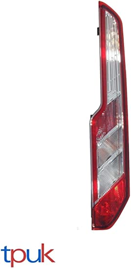 Gl/ühbirnen /& Halter Transit Teile Transit Mk8 Custom Links Beifahrer R/ücklicht Lampe Linse