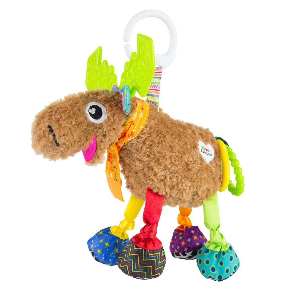 Lamaze Mortimer The Moose, Clip On Toy by LAMAZE