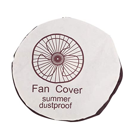 075700a343bb Non-Woven Electric Fan Circle Dust Cover Protection Cap Dustproof ...