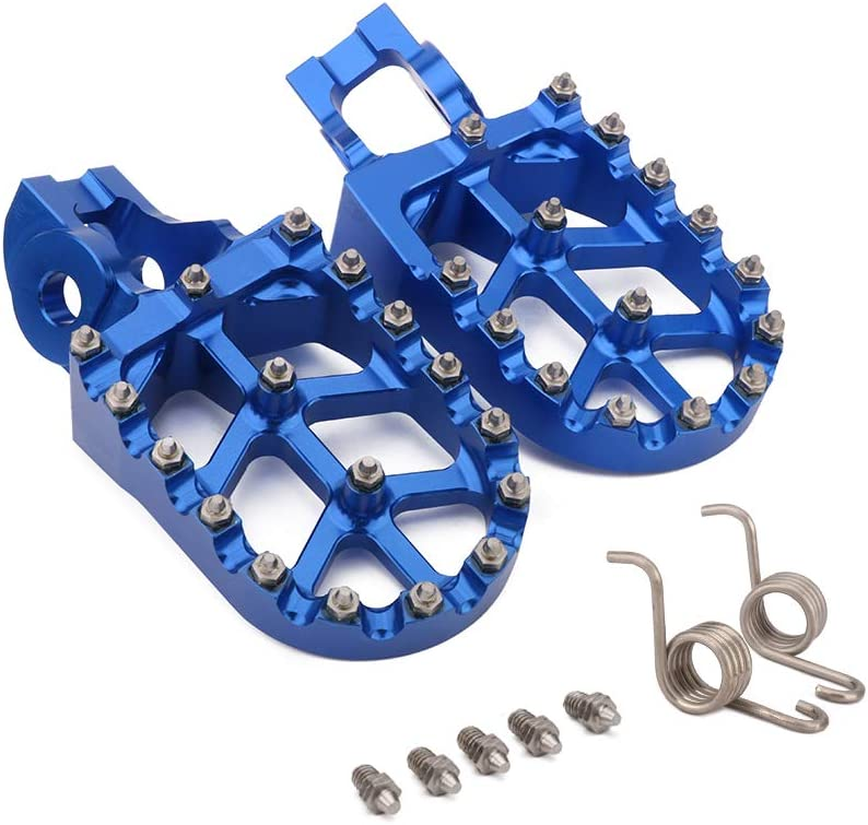 AnXin Foot Pegs Footpegs Footrests Foot Pedals Rests CNC MX For KTM 85 125 150 250 300 350 450 500 SX XC-W SX-F XC-F EXC-F SX-F FACTORY EDTION XC-F Husqvarna TC FC FE TE FS TX FX Motorcycle
