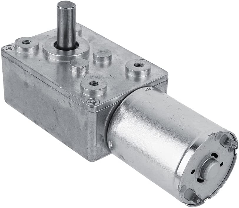 Caja de Engranajes con Motor Turbo de Alto par Motor DC 12V Motor 2/3/5/610/20/30/40/62/100 RPM (100 RPM)