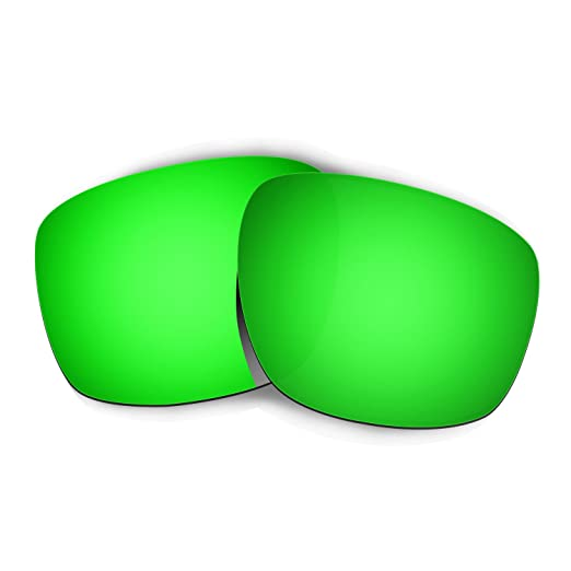 fa07e20a792 Image Unavailable. Image not available for. Color  Hkuco Mens Replacement  Lenses For Oakley Sliver Sunglasses Emerald Green Polarized