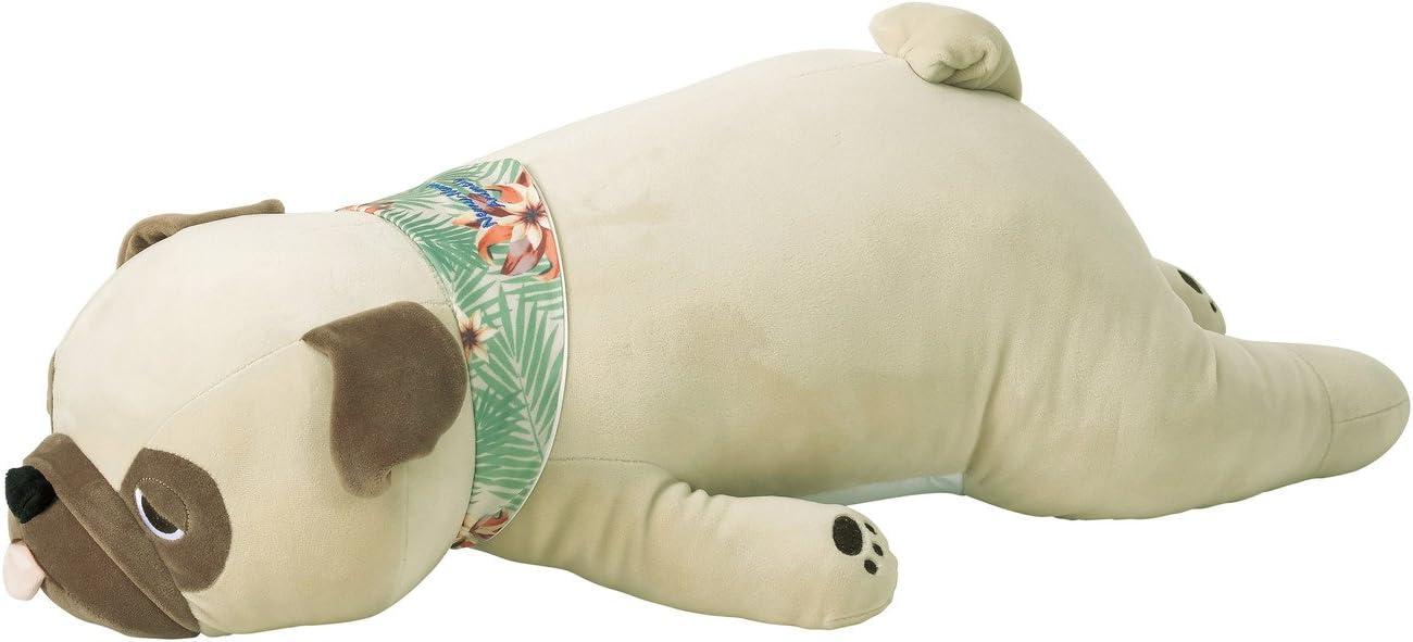 Livheart Cool Nemu Nemu Animals 2018 Summer Pug Hana Body Pillow with cooling effect (L) 58016-32