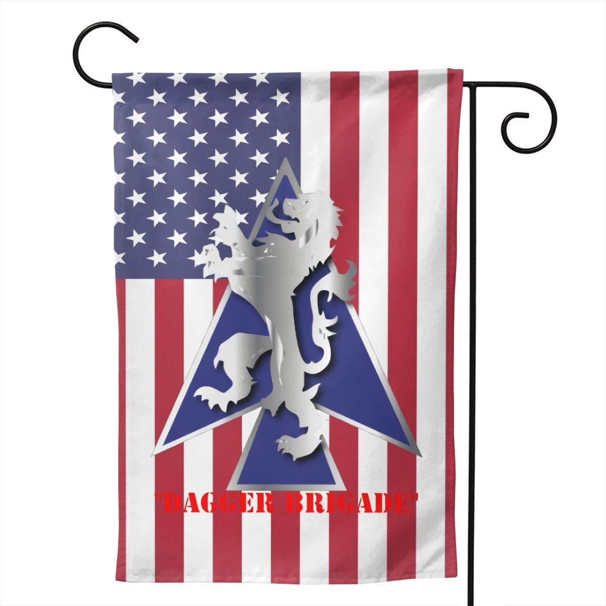 """2nd BDE Combat Tm Dagger Brigade 1st ID V1 Welcome Yard Garden Flag Banners for Patio Lawn Outdoor Home Decor 28""""x40"""""""