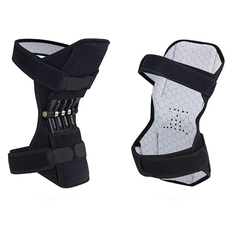 2pcs Knee Brace With Side Stabilizers, Knee Support, Hinged Knee Brace For Men And Women Patellar Tendon Support Strapknee Pain Relief Knee Strap For Running, Arthritis, Tennis Injury Recovery