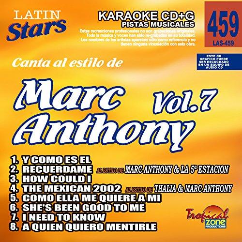 lo De Marc Anthony Vol.7 (Star Disc Karaoke)