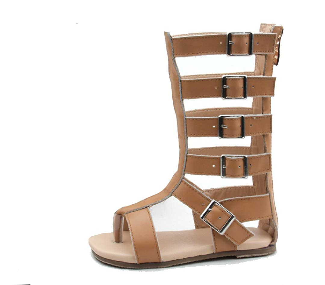 MiniStyleFinds Gladiator Sandals for Toddler Girls 5t-12t