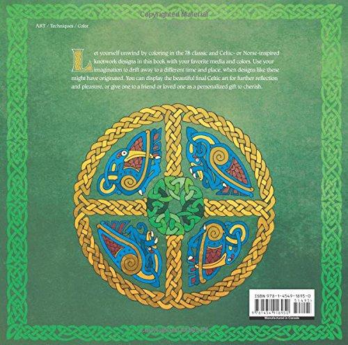 Celtic Spirit Coloring Book Knotwork Designs For Inner Peace Serene Cleopatra Motzel 9781454918950 Amazon Books