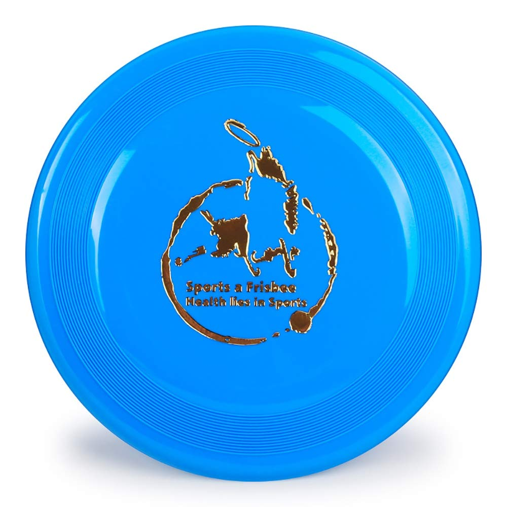 JFS Dog Frisbee Large,Pet Toy Rubber Frisbee Friendly PP Plastic Suitable for Outdoor Dog Training and Play-4 Pcs by JFS