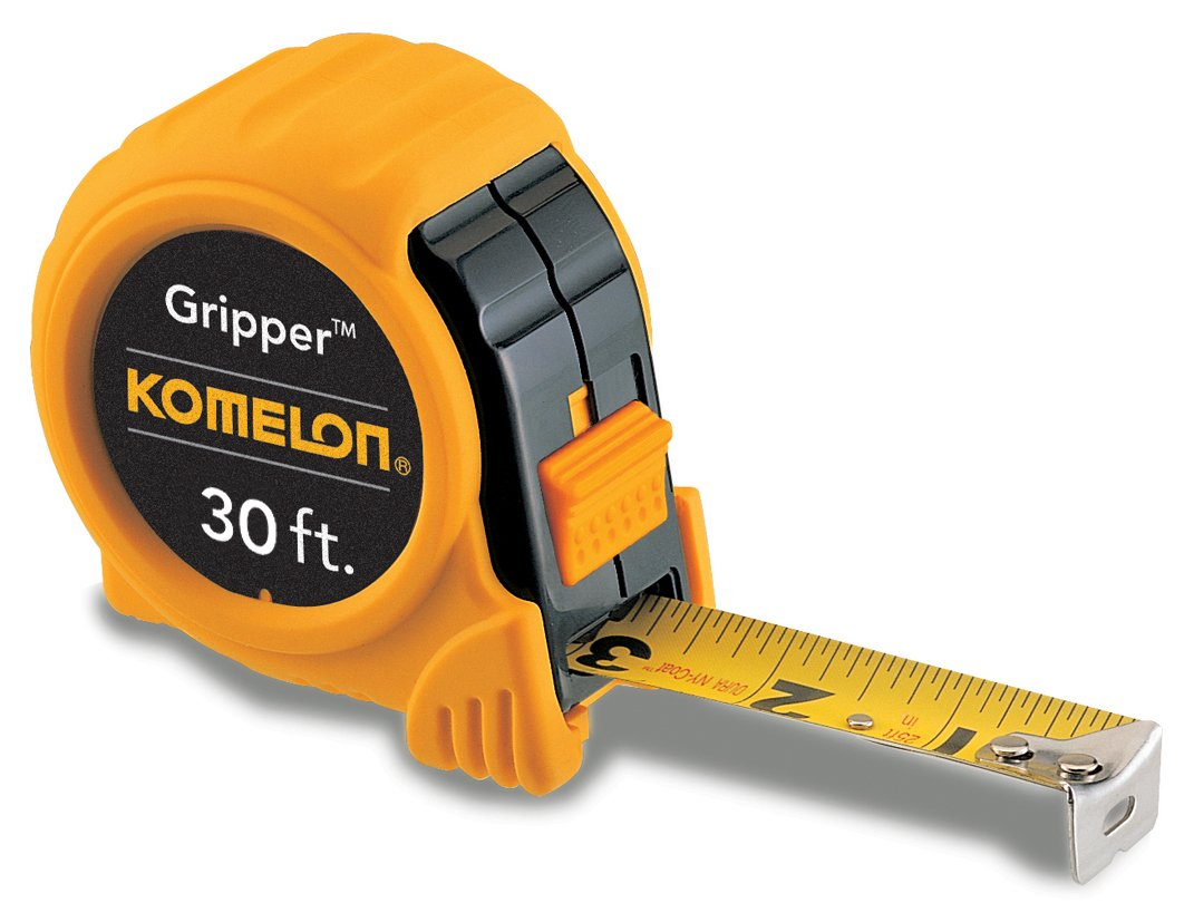Komelon 5930 Gripper Acrylic Coated Steel Blade 30-Foot by 1-Inch, Yellow