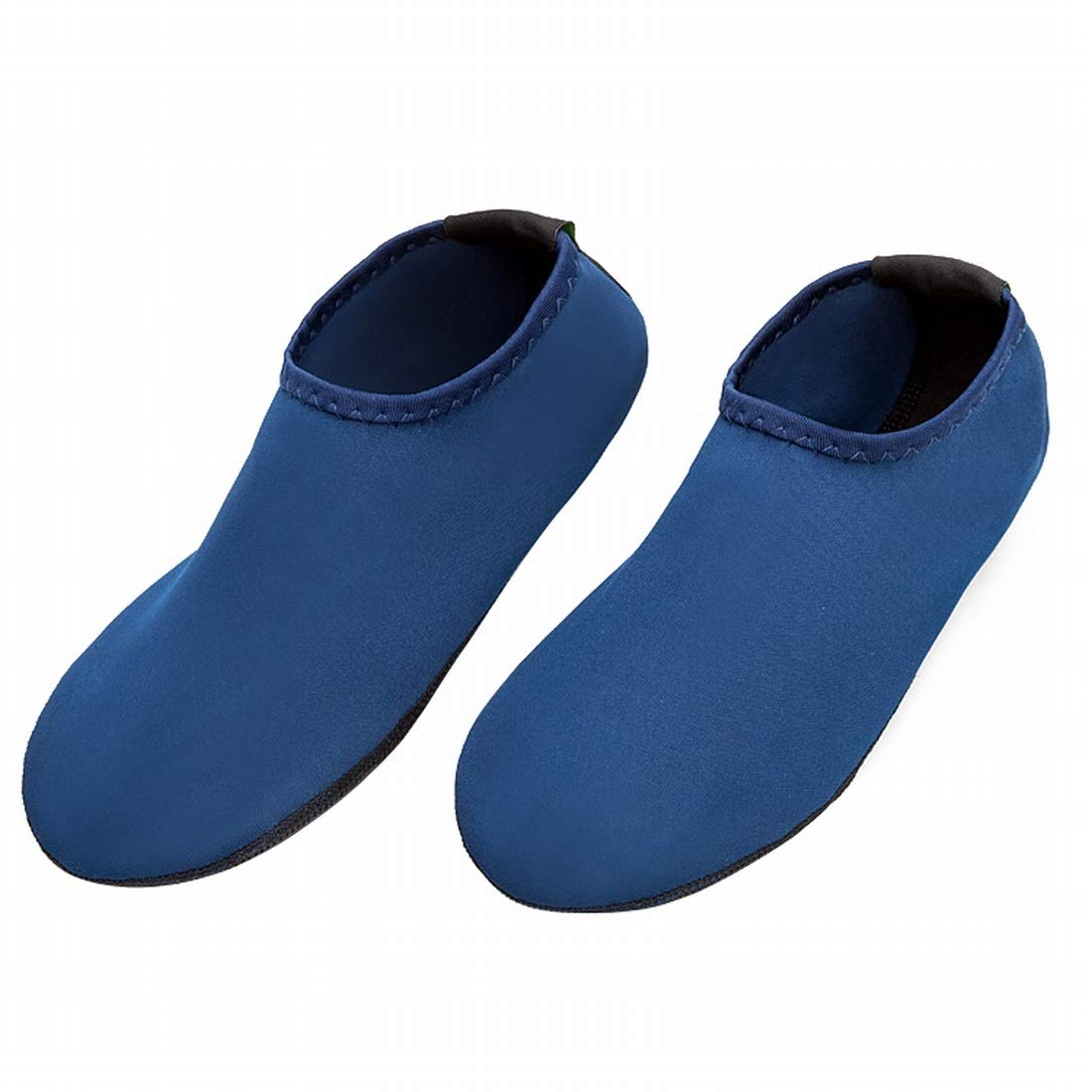 Sinngukaba Diving Snorkeling Beach Shoes and Socks Breathable Non-Slip Adult Quick-Drying Anti-Cutting Soft Bottom Swimming Upstream Shoes (Color : Blue, Size : M)