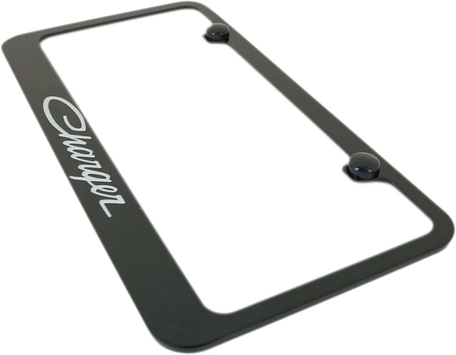Inc.Black License Plate Frame for Dodge Charger Elite Automotive Products