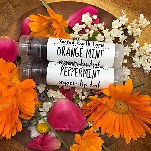Organic Lip and Cheek Tint, Plant Based Makeup