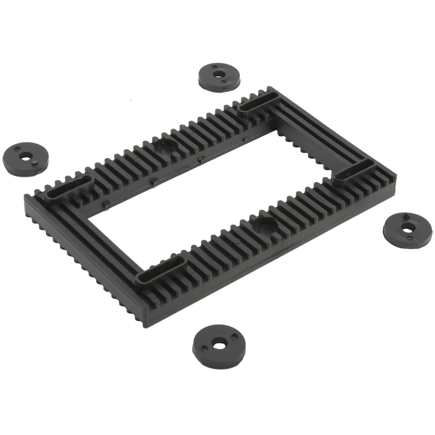 Silencer Anti-Vibration Pump Motor Mount Base Pad for Quiet Hot Tub, Spa - 95% Noise Reduction