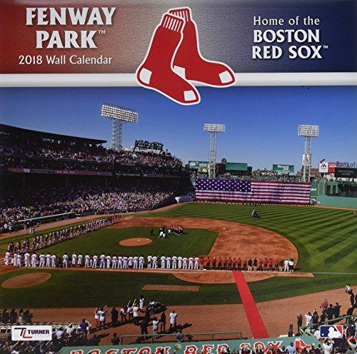 Boston Red Sox Fenway Park 2018 Calendar
