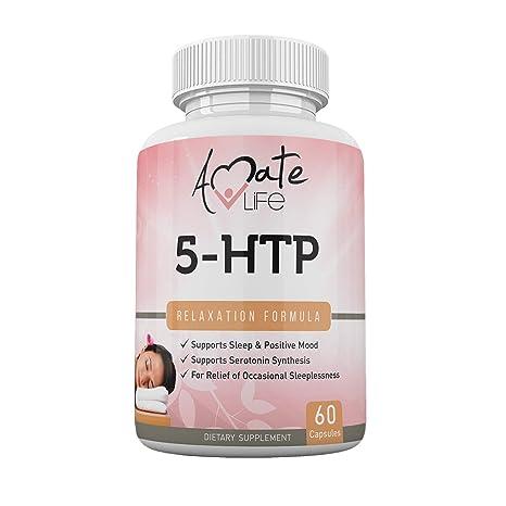 Amazon.com: Amate Life 5-HTP 100 mg, ayuda para el sueño ...