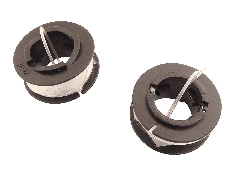 Bobina de hilo de 1,6 mm (2 unidades) compatible con Wolf-Garten ...