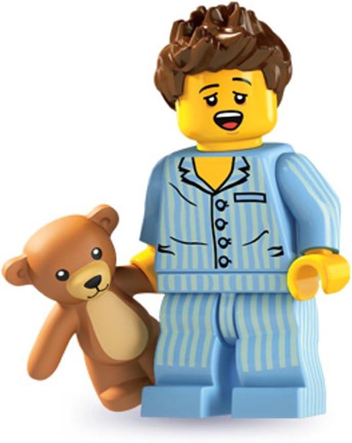 LEGO 8827 Minifigures Series 6 - Minifigure Sleepyhead (Sleepy Head) x1 Loose