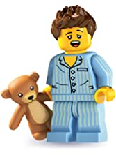LEGO 8827 Minifigures Series 6 - Minifigure Sleepyhead (Sleepy Head) x1 Loose