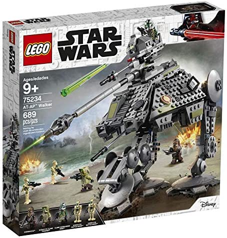 Amazon.com: LEGO Star Wars: Revenge of the Sith AT AP Walker ...