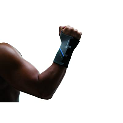Rehband 7710 Protège-poignet homme Bras gauche Gris Taille S/M