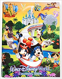 Walt Disney World Coloring Book (Walt Disney World Exclusive): Walt ...