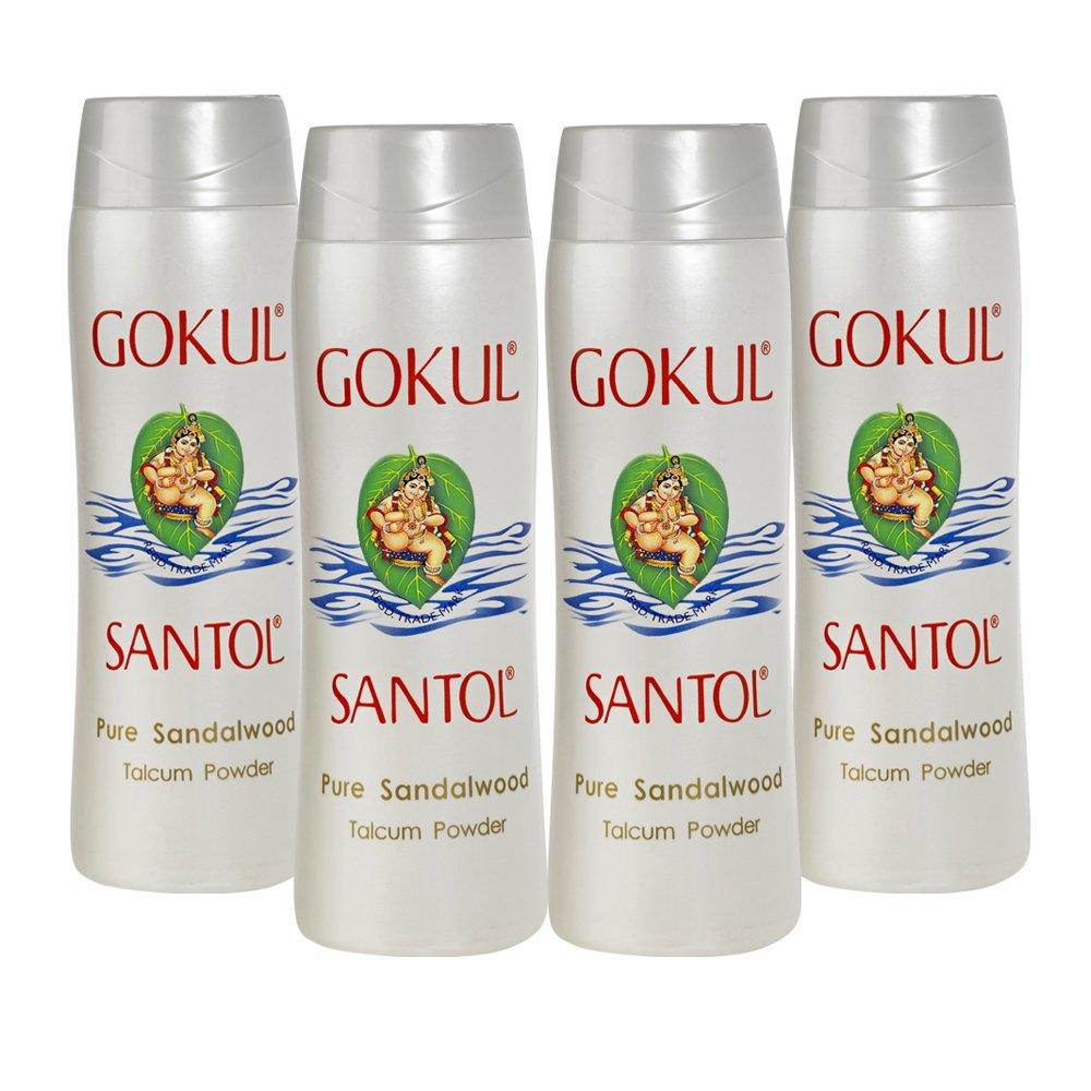 Gokul Santol Talcum Powder 140g (Pack of 4)