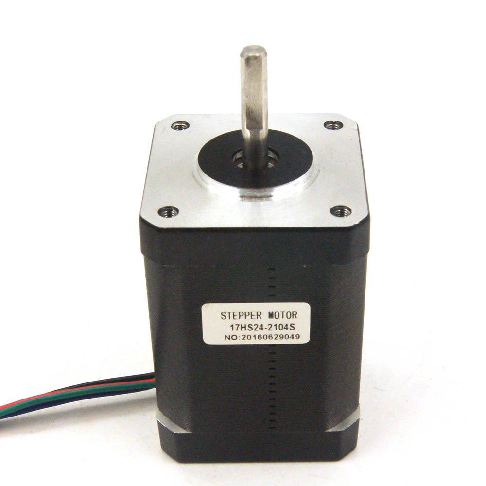 Nema 17 Stepper Motor 2.1A 65Ncm (92oz.in) 60mm Length for 3D Printer/CNC Machine/Robotics