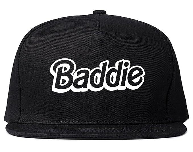 920f10682db Baddie Bad Girl Snapback Hat Black at Amazon Women s Clothing store