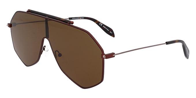 Amazon.com: Alexander McQueen - Gafas de sol (AM-0138-S 004 ...