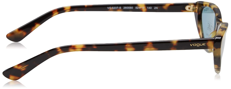 Vogue Eyewear 260580 Occhiali da Sole Marrone 52 Donna Brown Yellow Tortoise