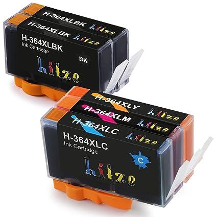 Alta Capacidad Hitze 364 XL Cartucho de Tinta Reemplazo Compatible para CON HP Deskjet 3070A OfficeJet 4620 Photosmart 5510 B110A B8550 C5324 C5370 ...