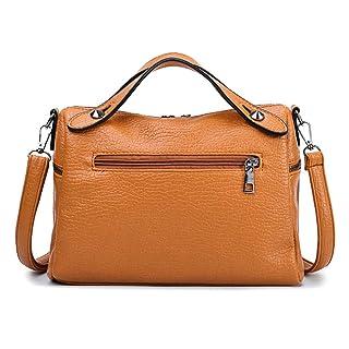 Borse da Donna Crossbody Fashion Borse con Borchie Borse Fashion Scrubs Soft PU in Pelle Casual Borse Moto