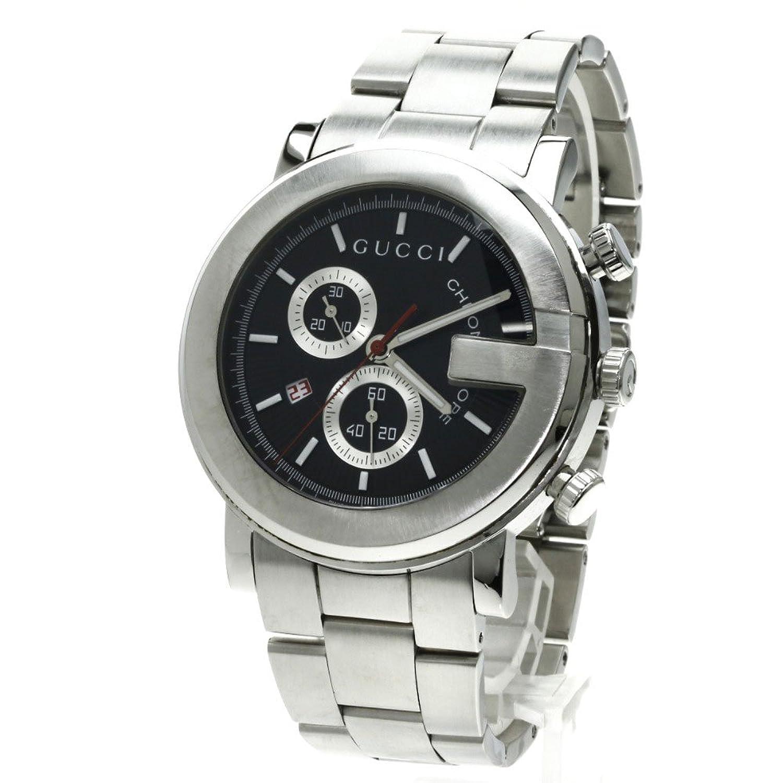 GUCCI(グッチ) YA101M 腕時計 ステンレス/SS メンズ (中古) B07533JCQG