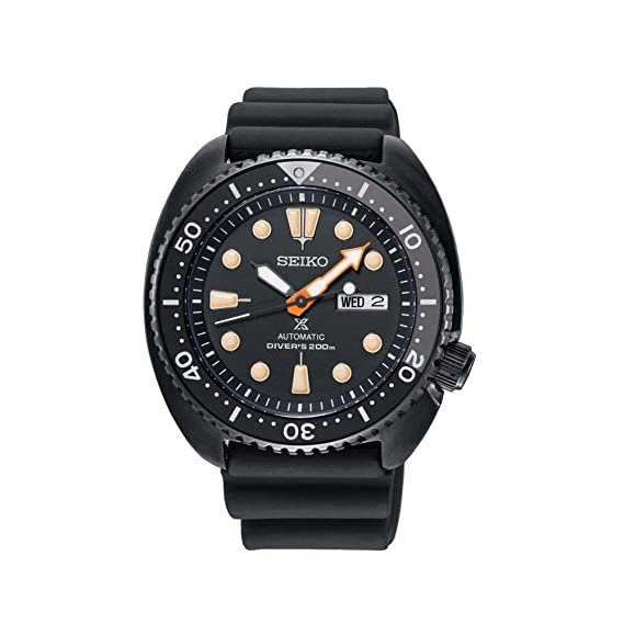 9325bce3961 SEIKO PROSPEX Black Series Turtle Limited Edition Automatic Diver s 200M  SRPC49K1  Amazon.ca  Watches