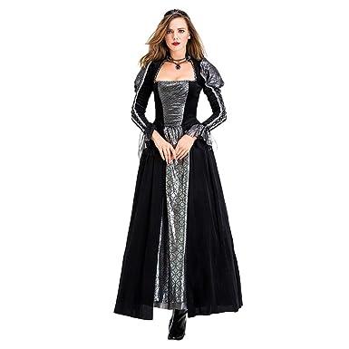 Traje de Corte Retro Europeo Traje Medieval de Halloween ...