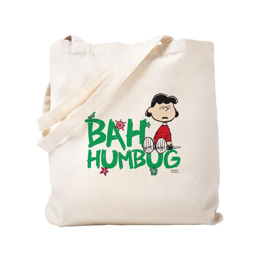 CafePress – Bah Humbug – ナチュラルキャンバストートバッグ、布ショッピングバッグ S ベージュ 2007681449DECC2 B0773TB273 S
