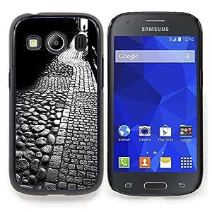 "Planetar ( Noche minimalista Muchacha Romántica"" ) Samsung Galaxy Ace Style LTE/ G357 Fundas Cover Cubre Hard Case Cover"