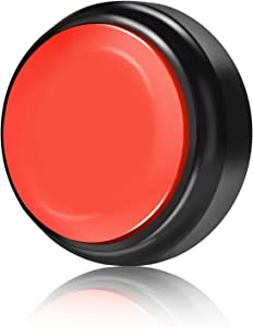 Neutral Record Talking Button (Black+Red)