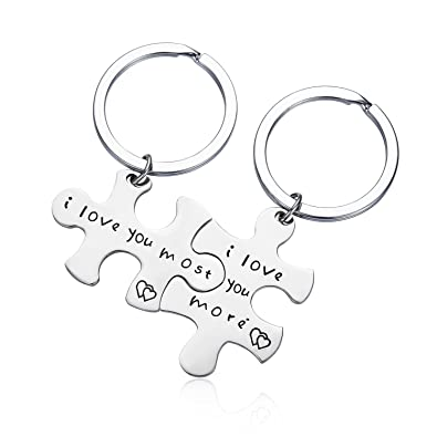 amazon com cj m stainless steel i love you more i love you most