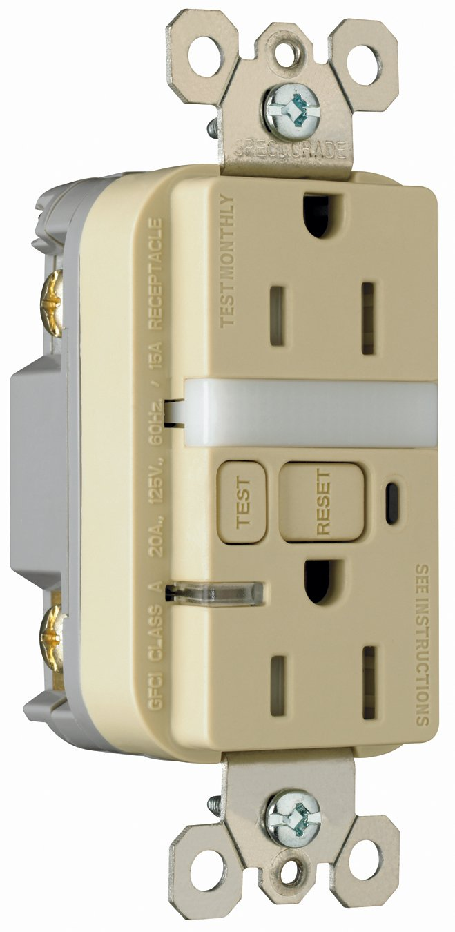 Best Rated In Ground Fault Circuit Interrupter Outlets Helpful Portable W Four 15 A Breaker Legrand Pass Seymour Radiant 1597ntltriccd4 Tamper Resistant Amp Night Light Self